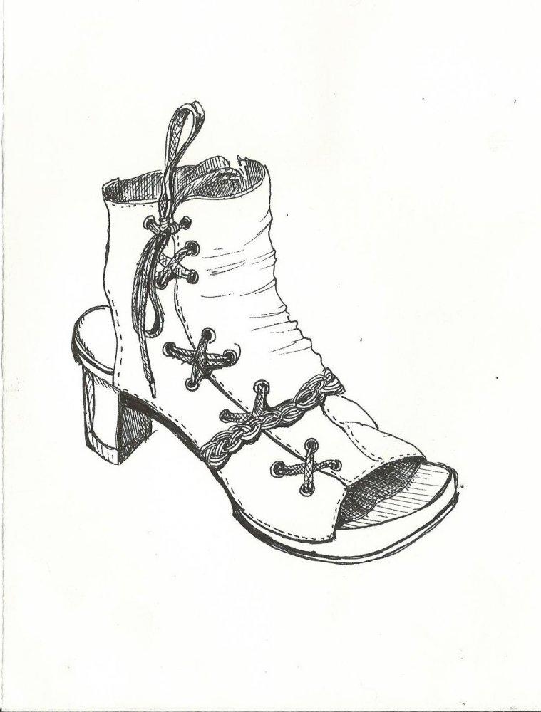 рисунки по клеточкам туфлм