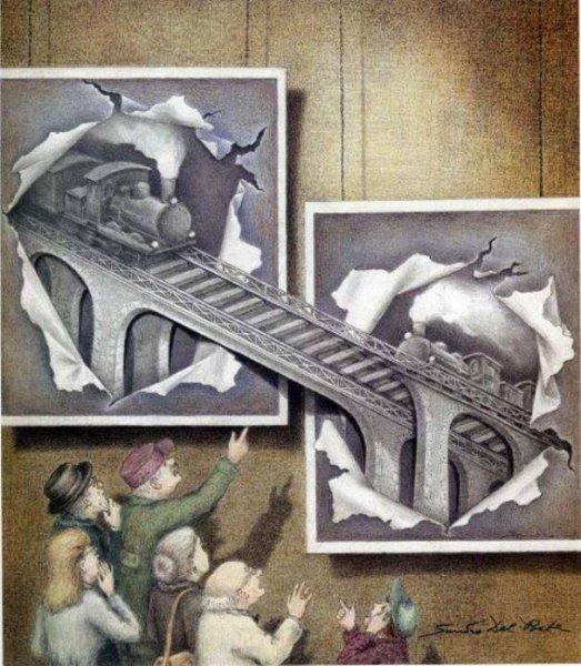 Иллюзоризм. Art by Sandro del Prete
