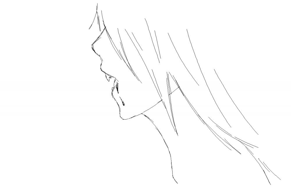 как нарисовать девушку вампира: