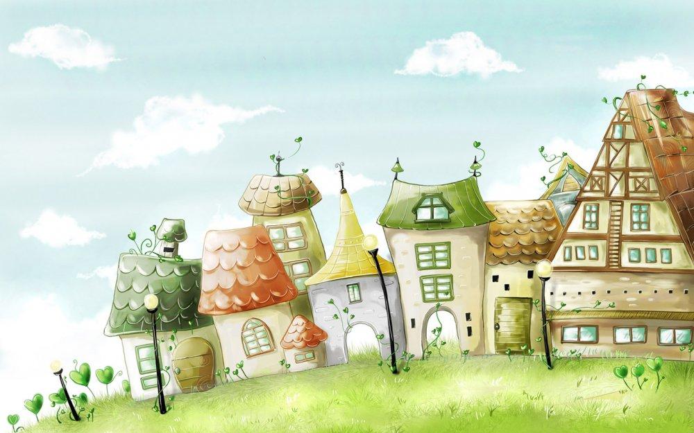 """Красочные рисунки для детей """" ALLDAY - народный сайт о дизайне"""