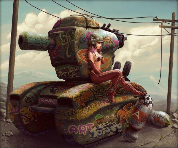 art / красивые рисунки и картины красивые картинки танк / Смешные картинки, приколы, видео, лучшие демотиваторы со смыслом и по-