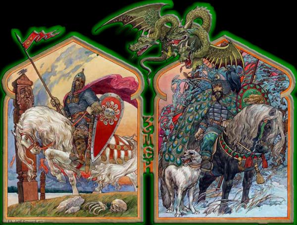 Драконы древней Руси