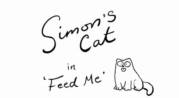 """Simon's Cat: Feed me"""
