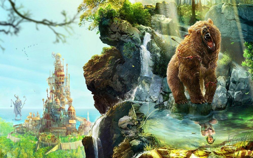 три медведя картинки по отдельности