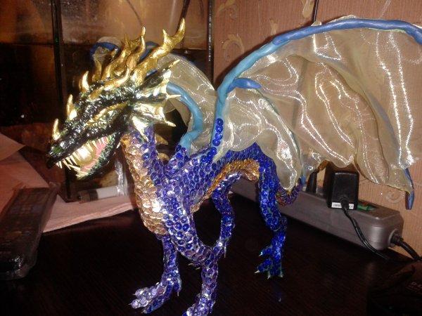 Как своими руками сделать большого дракона 62