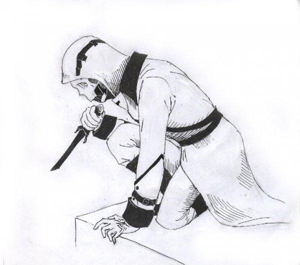 Dishonored рисунки карандашом