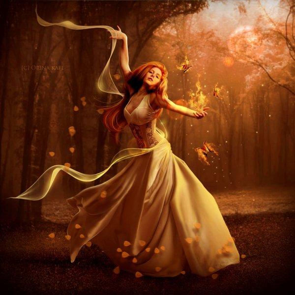 Fantasy art by Orina Kafe