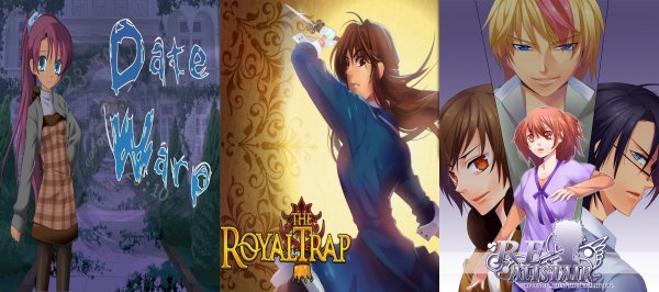 Отомэ-игры: Date Warp, The Royal Trap, RE: Alistair