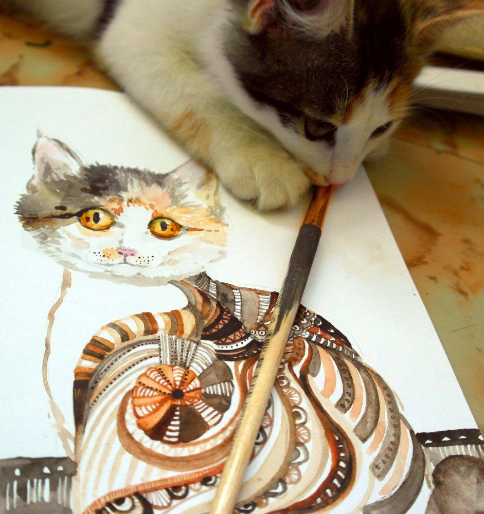 Рисунки боровичков